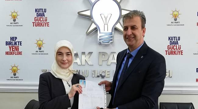 AK Parti'de Hatice Gözeten Aday Adaylığını Açıkladı