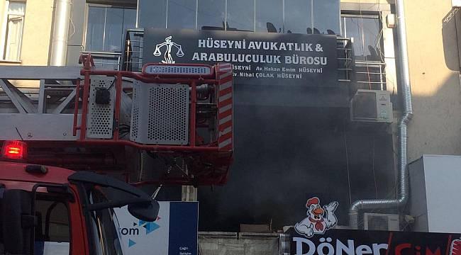 Turgutlu'da İş Yeri Yangını