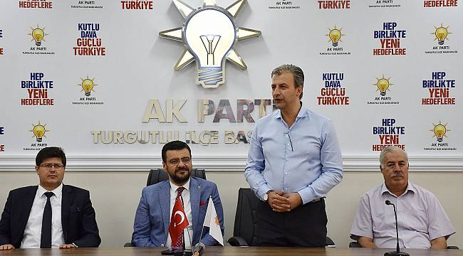 AK Parti Turgutlu'da Bayramlaşma