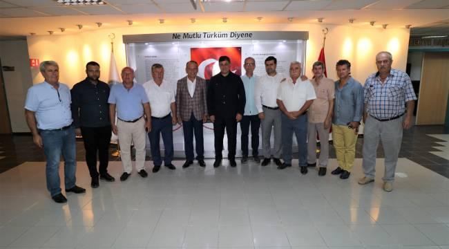 Başkan Akın Karşıyaka Belediye Başkanı Tugay'ı Ağırladı