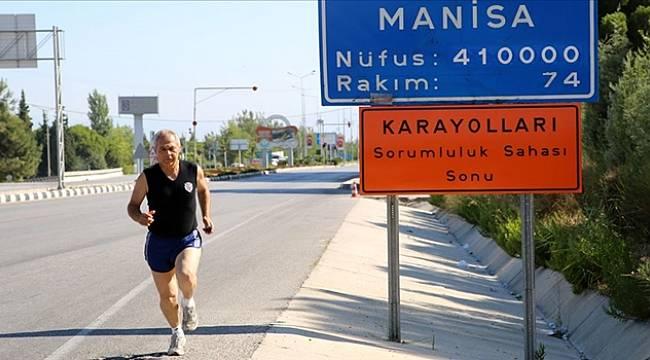 Manisa ve İzmir Arasında Her Gün Koşuyor