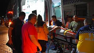 Turgutlu'da Balkondan Düşen Kişi Ağır Yaralandı