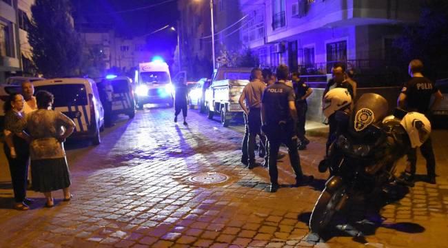 Turgutlu'da Bıçakla Yaralama