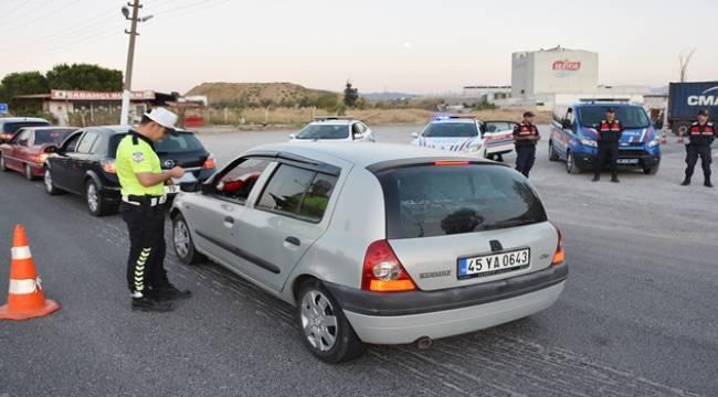 Turgutlu'da Polis ve Jandarmadan