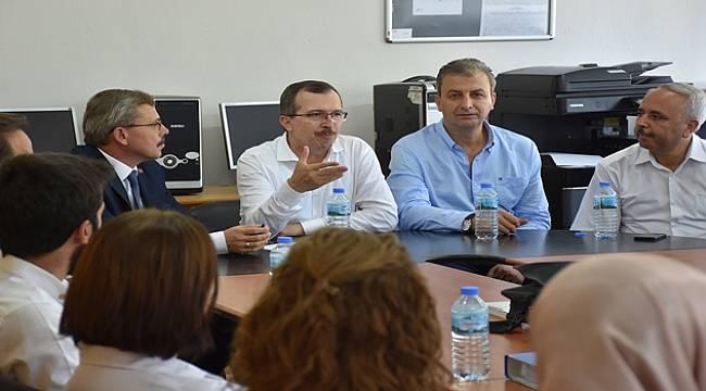 AK Parti Milletvekili Uğur Aydemir Turgutlu'da