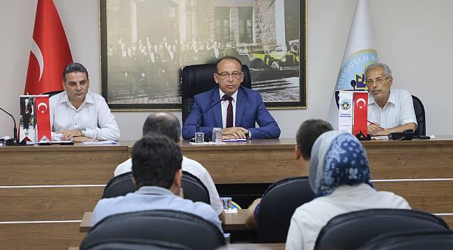 Turgutlu Belediyesi Meclisi Eylül Ayı İkinci Oturumunu Gerçekleştirdi