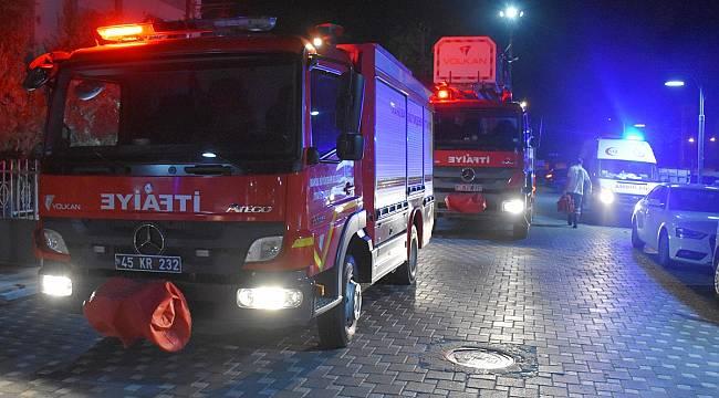 Turgutlu'da Ev Yangını