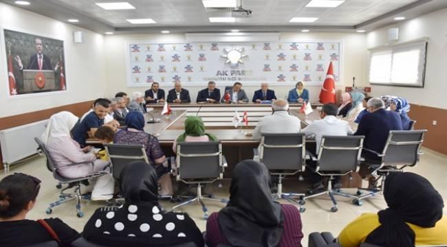 AK Parti MKYK Üyesi Ahmet Sami Ceylan, Turgutlu'da