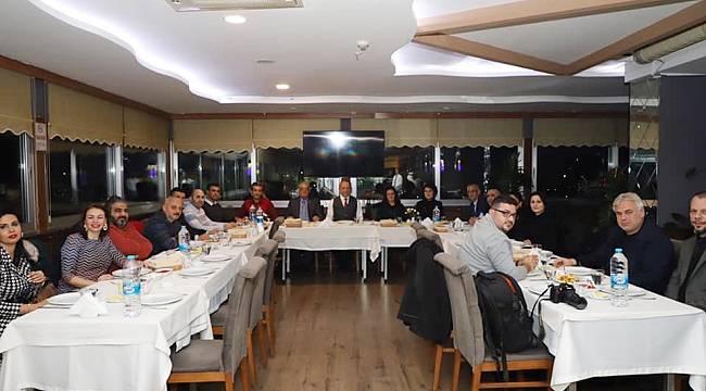 Başkan Çetin Akın, Gazetecilerle Buluştu