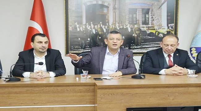 CHP Grup Başkanvekili Özgür Özel:
