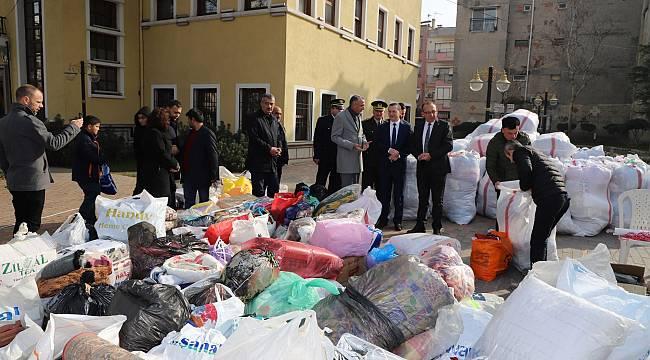 Turgutlu'dan Depremzedelere Yardım