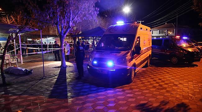 Manisa'da bir kişi, kahvehanede öldürüldü