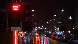 Manisa'da Trafik Işıklarına