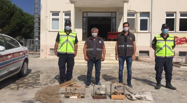 Manisa'da Saka Kuşu Avlayan Kişiye 7 Bin 95 Lira Ceza Uygulandı