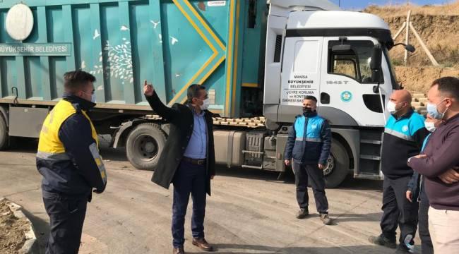 Çevre Koruma Dairesi Turgutlu'daki Çevreci Yatırımda Çalışmalar İnceledi