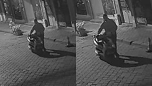 Turgutlu'da Elektrikli Bisiklet Hırsızlığı Kameralarda
