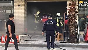 Turgutlu'da İş Yerinde Çıkan Yangın Hasara Neden Oldu