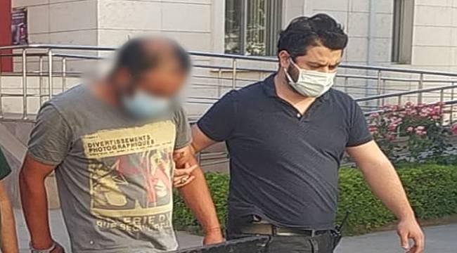 Turgutlu'da Bir Kadını Elle Taciz Eden Zanlı Tutuklandı