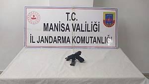 Turgutlu'da Şüphe Üzerine Kontrol Edilen Kişinin Üzerinde Tabanca Ele Geçirildi
