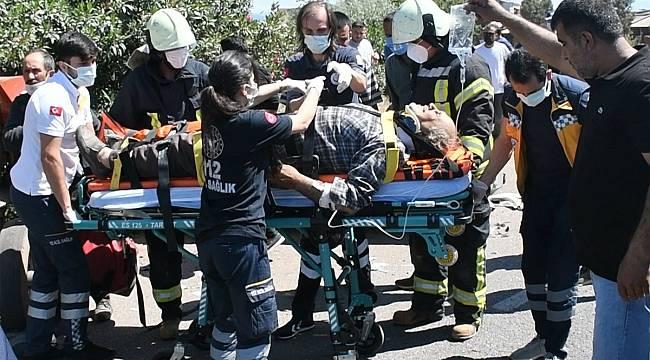 Turgutlu'da Trafik Kazasında Yaralanan Kişi Hayatını Kaybetti