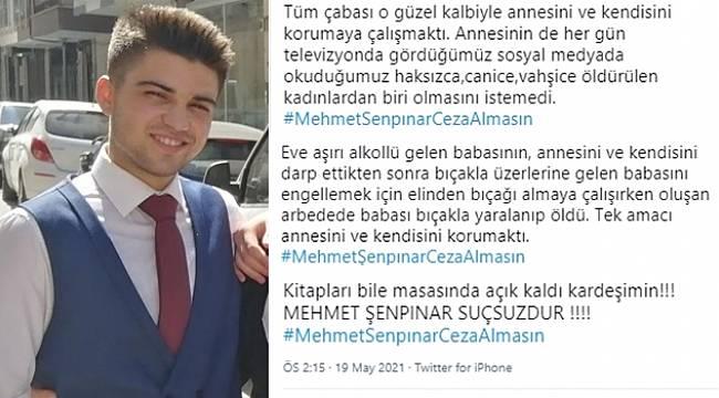 Turgutlu'da Boğuşma Sırasında Babasını Öldüren Gencin Ceza Almaması İçin Kampanya Başlatıldı