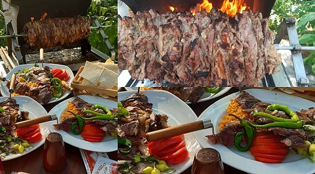 Eşsiz Lezzet Cağ Kebabı, Turgutlu'da Tepe Kafe'de (Şehitler Parkı)