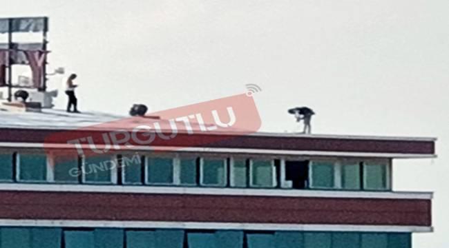 Turgutlu'da İşçilerin Tehlikeli Mesaisi