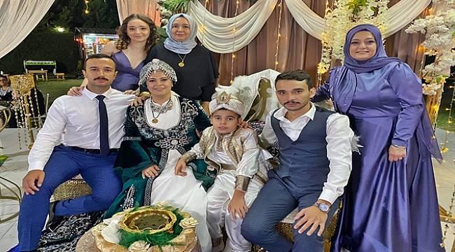 Hasan Hüseyin Coşkun'dan Torunu Çetin'e Coşkulu Sünnet Töreni