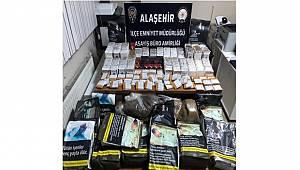 Manisa'da Kaçak Sigara ve Tütün Operasyonu