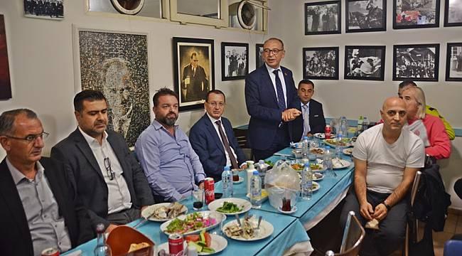 Turgutluspor'lu Futbolculara Çorum FK Maçı Öncesi Moral Yemeği